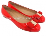 NEW Giày Ferragamo varina đỏ