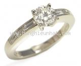 Nhẫn kim cương cartier 0.58ct