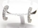 Bông tai Tiffany&Co kim cương Pt950