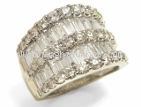 Nhẫn Tiffany&Co kim cương PT900 3.20ct size 13