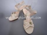 Giày cao gót Bally size 7 1/2 màu nâu trắng ngà