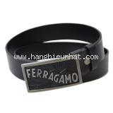 Thắt lưng Ferragamo đen size 110