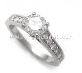 Nhẫn Cartier kim cương 0.70ct