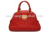 Túi xách Miu Miu Materasse RL0072 màu đỏ