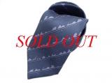 NEW cà vạt lụa Hermes màu xanh