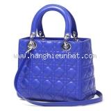 NEW Túi xách Christian Dior lady dior xanh