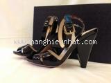 MS3476 Sandal Prada size 36 1/2 đen SUMMER SALE