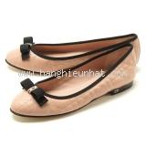 NEW Giày Christian Dior màu kem hồng