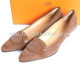 NEW Giày Hermes nữ size 38 màu nâu