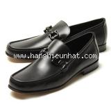 NEW Giày Ferragamo đen GIORDANO 3E