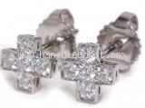 NS Bông tai Tiffany & Co Kim cương Pt950