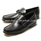 NEW Giày Ferragamo đen GIORDANO 2E