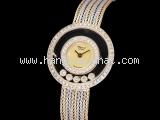 Đồng hồ Chopard K18WG/YG happy diamond của nữ