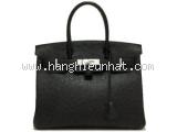 Túi hermes birkin 30 ostrich đen