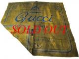 NEW Khăn lụa Gucci màu xanh vàng