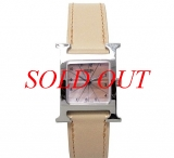Đồng hồ Hermes mặt số hồng HH1.210