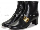 S Boot cổ ngắn Louis Vuitton size 35 đen