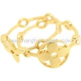 Nhẫn đôi Louis Vuitton kim cương K18YG size 51