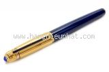 SA Bút Cartier Trinity ngòi vàng K18 màu xanh
