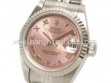 Đồng hồ Rolex datejust của nữ  79174  mặt hồng