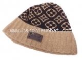 Mũ len đan Monogram
