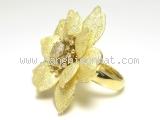 MS3636 Nhẫn vàng hình hoa