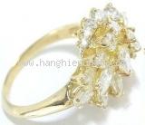SA Nhẫn Piaget K18YG kim cương