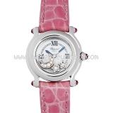 Đồng hồ Chopard happy sport hồng