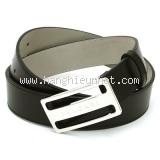 NEW Thắt lưng Bvlgari size 90 đen khóa bạc