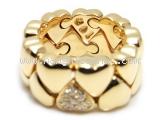 Nhẫn Cartier trái tim vàng