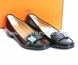 NEW Giày Hermes nữ Nostra đen