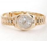 Đồng hồ Rolex nữ 179178 vàng khối
