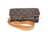 Túi xách LV Pochette Twin PM màu nâu