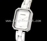 Đồng hồ Chanel ceramic kim cương