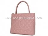 Túi xách Chanel tote caviar hồng