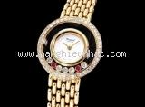 Đồng hồ Chopard happy diamond 2 rubi đỏ