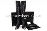 Boot Chanel size 37 C màu đen