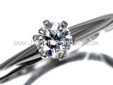Nhẫn Tiffany&Co kim cương 0.23ct size 12