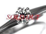 Nhẫn Tiffany&Co kim cương 0.3ct size 17
