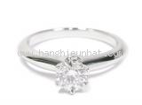 Nhẫn Tiffany&Co kim cương 0.56ct size 8