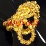 S Nhẫn Hermes vàng K18YG