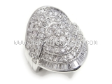 Nhẫn kim cương 3.00ct PT900