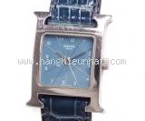 Đồng hồ Hermes mặt số xanh HH1.210