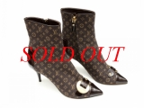 MS2889 Boot Louis Vuitton size 37 denim