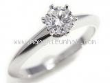 Nhẫn Tiffany&Co kim cương 0.40ct size 11