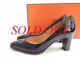 MS3396 Giày Hermes size 34 đen