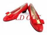 Giày Ferragamo size 6C đỏ