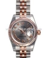 NEW Đồng hồ Rolex nữ 179171 PG/SS mặt xám