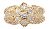 Nhẫn kim cương YG 1.50ct