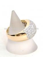 Nhẫn kim cương cỡ 16 2.63ct